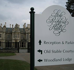 Reception Directional Signs