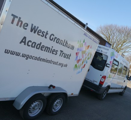 West Grantham Academies - Vehicle Graphics