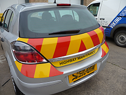 Part P Reflective Vehicle Graphics
