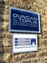 Custom Office Plaques - Aluminium